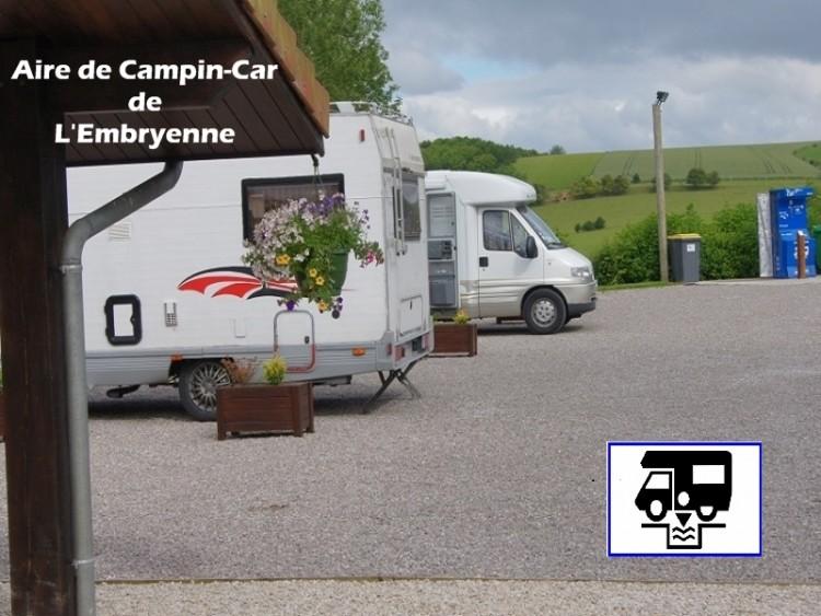 Aire de Camping-Cars de L'Embryenne