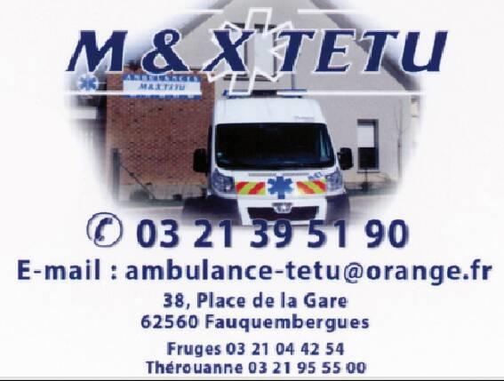 Ambulances Tetu