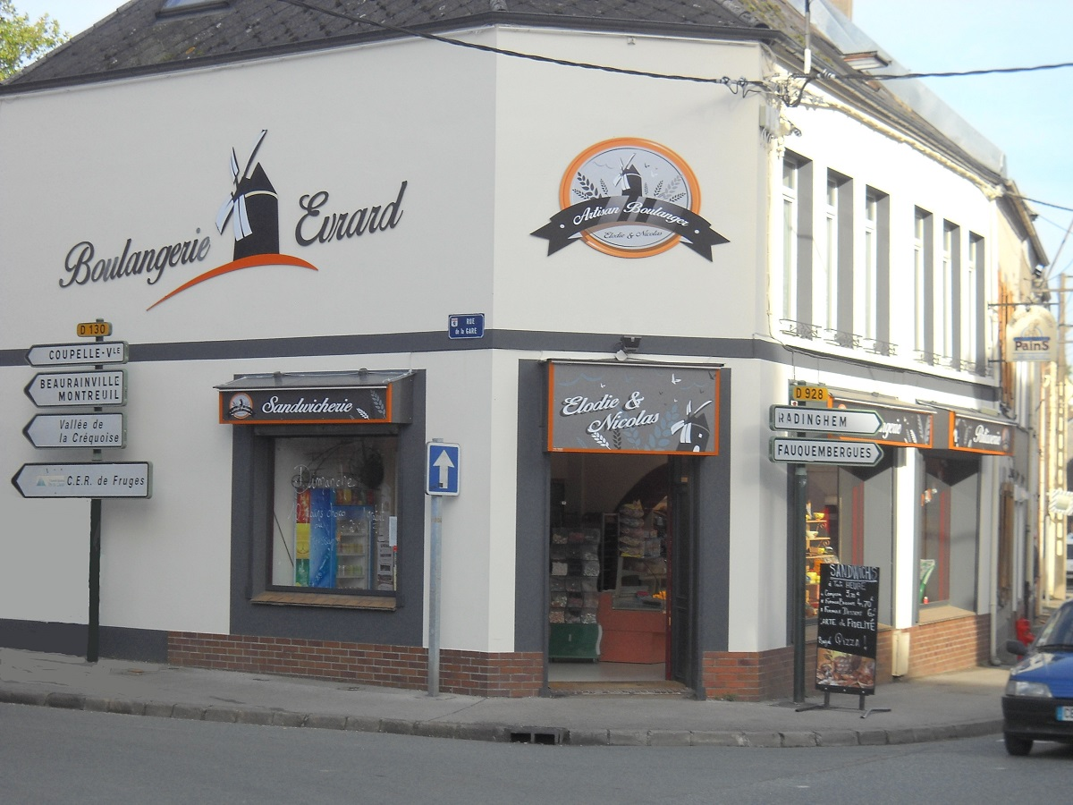 Boulangerie Patisserie Evrard